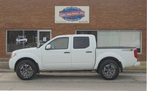 2019 Nissan Frontier for sale at Eyler Auto Center Inc. in Rushville IL