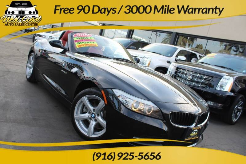 2009 BMW Z4 for sale at West Coast Auto Sales Center in Sacramento CA