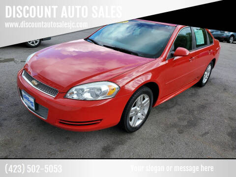 2013 Chevrolet Impala for sale at DISCOUNT AUTO SALES in Johnson City TN