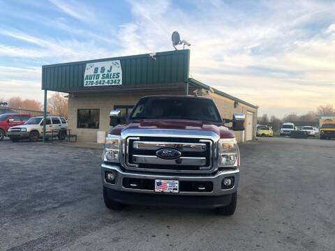 2013 Ford F-250 Super Duty for sale at B & J Auto Sales in Auburn KY