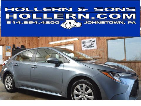2020 Toyota Corolla for sale at Hollern & Sons Auto Sales in Johnstown PA