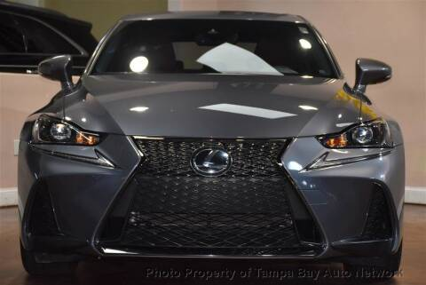 2017 Lexus IS 350 for sale at Tampa Bay AutoNetwork in Tampa FL