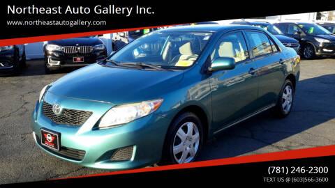 2009 Toyota Corolla for sale at Northeast Auto Gallery Inc. in Wakefield Ma MA