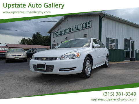 2012 Chevrolet Impala for sale at Upstate Auto Gallery in Westmoreland NY