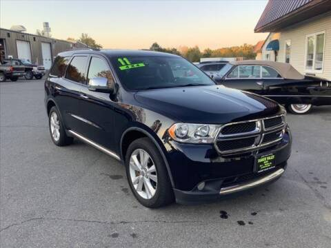 2011 Dodge Durango for sale at SHAKER VALLEY AUTO SALES in Enfield NH