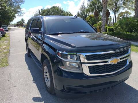 2016 Chevrolet Suburban for sale at LAND & SEA BROKERS INC in Deerfield FL