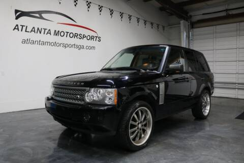 2008 Land Rover Range Rover for sale at Atlanta Motorsports in Roswell GA