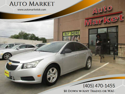 2013 Chevrolet Cruze for sale at Auto Market in Oklahoma City OK