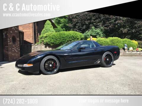 2002 Chevrolet Corvette for sale at C & C Automotive in Chicora PA