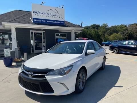 2015 Toyota Camry for sale at Maryville Auto Sales in Maryville TN
