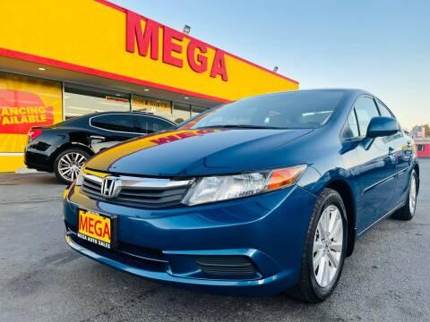 2012 Honda Civic for sale at Mega Auto Sales in Wenatchee WA