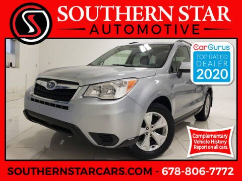 2015 Subaru Forester for sale at Southern Star Automotive, Inc. in Duluth GA
