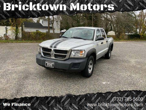 2008 Dodge Dakota for sale at Bricktown Motors in Brick NJ