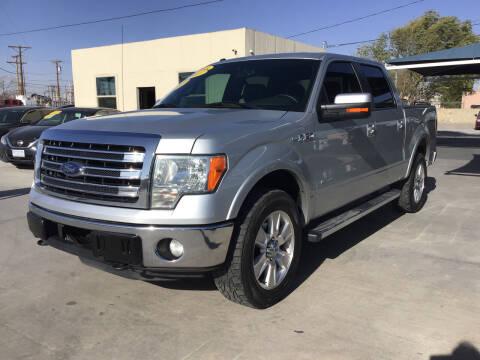 2013 Ford F-150 for sale at Hugo Motors INC in El Paso TX