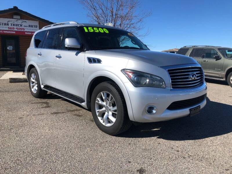 2012 Infiniti QX56 for sale at 5 Star Truck and Auto in Idaho Falls ID
