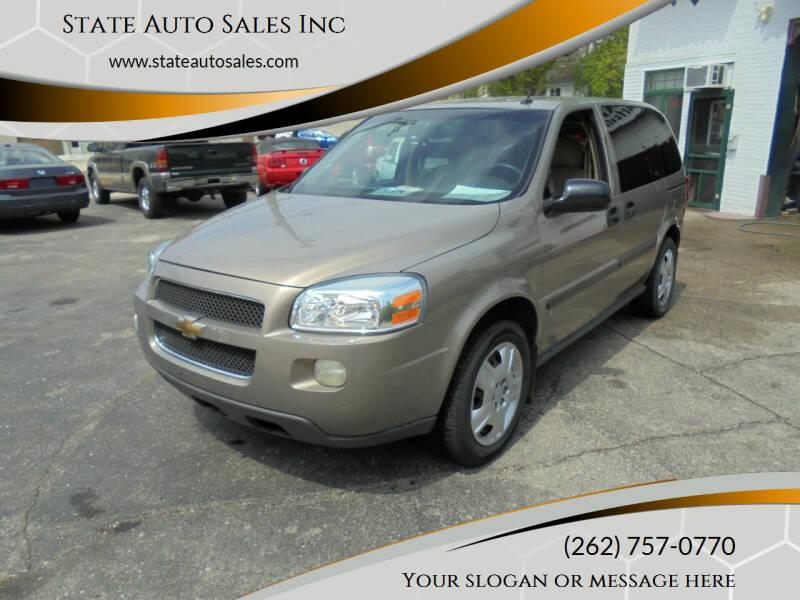 2006 Chevrolet Uplander for sale in Burlington, WI