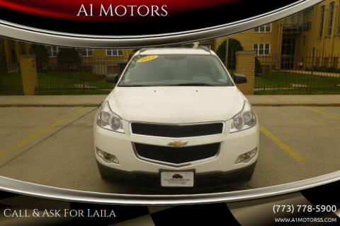 2012 Chevrolet Traverse for sale at A1 Motors Inc in Chicago IL