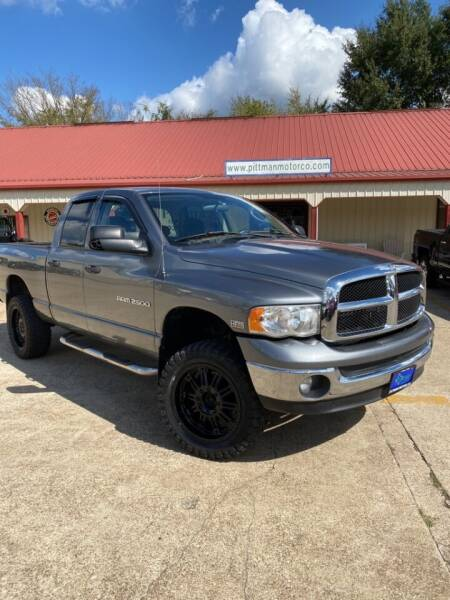 2005 Dodge Ram Pickup 2500 for sale at PITTMAN MOTOR CO in Lindale TX