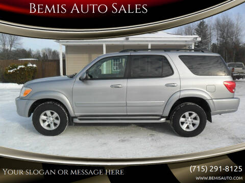 2006 Toyota Sequoia for sale at Bemis Auto Sales in Crivitz WI