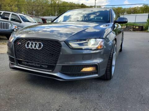 2016 Audi S4 for sale at MX Motors LLC in Ashland MA