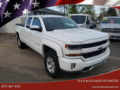 2017 Chevrolet Silverado 1500 for sale at D & D Auto Sales Of Onsted in Onsted MI