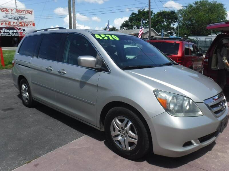 2005 Honda Odyssey for sale at LEGACY MOTORS INC in New Port Richey FL