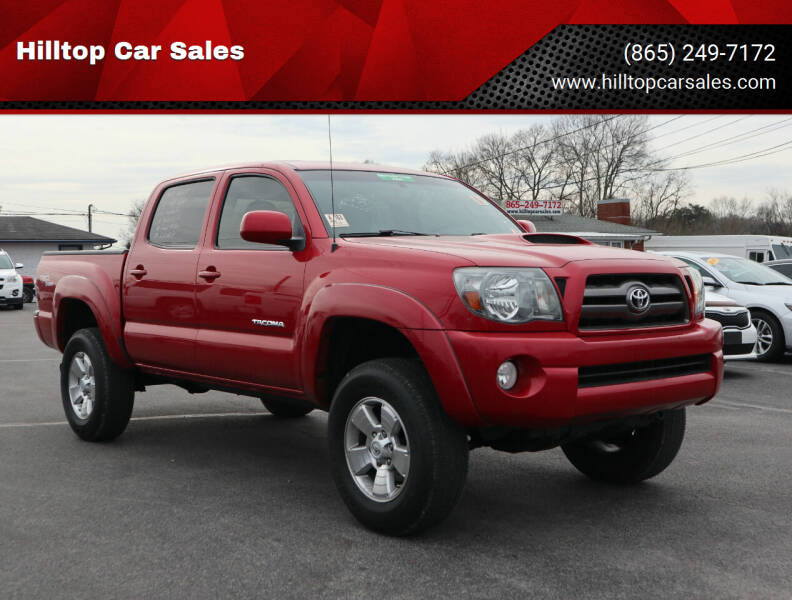 2010 Toyota Tacoma for sale at Hilltop Car Sales in Knox TN