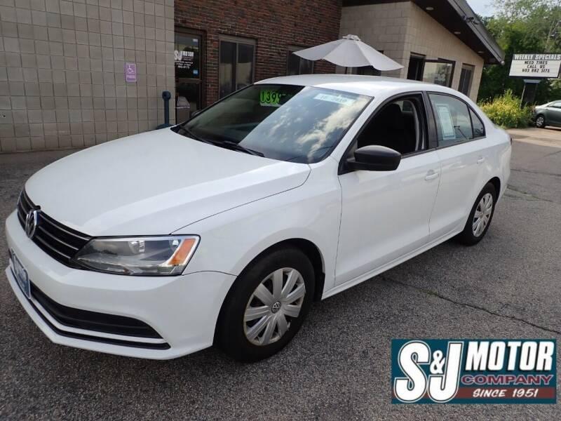 2016 Volkswagen Jetta for sale at S & J Motor Co Inc. in Merrimack NH