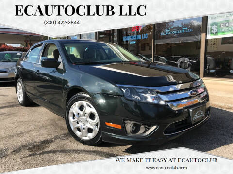 2010 Ford Fusion for sale at ECAUTOCLUB LLC in Kent OH