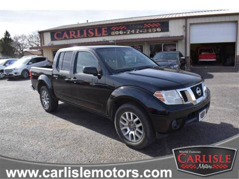 2012 Nissan Frontier for sale at Carlisle Motors in Lubbock TX