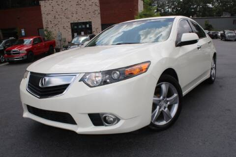 2011 Acura TSX for sale at Atlanta Unique Auto Sales in Norcross GA