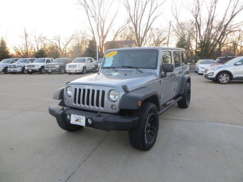 2015 Jeep Wrangler Unlimited for sale at Aztec Motors in Des Moines IA