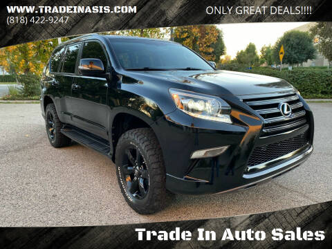 2015 Lexus GX 460 for sale at Trade In Auto Sales in Van Nuys CA