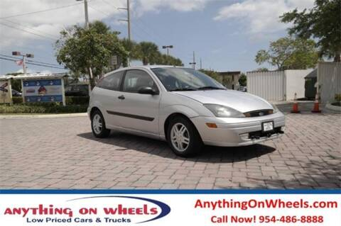 2003 Ford Focus for sale at JumboAutoGroup.com - Anythingonwheels.com in Oakland Park FL
