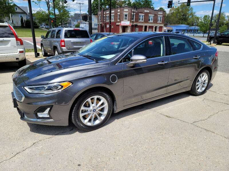2019 Ford Fusion Energi for sale in Springfield, MA