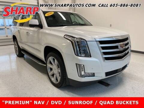 2020 Cadillac Escalade ESV for sale at Sharp Automotive in Watertown SD