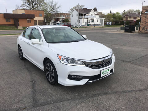 2017 Honda Accord for sale at Carney Auto Sales in Austin MN