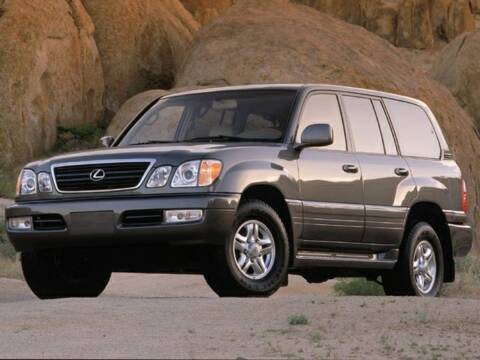 2002 Lexus LX 470 for sale at Metairie Preowned Superstore in Metairie LA