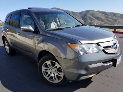 2008 Acura MDX for sale at Trini-D Auto Sales Center in San Diego CA