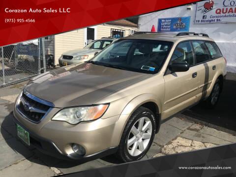 2008 Subaru Outback for sale at Corazon Auto Sales LLC in Paterson NJ