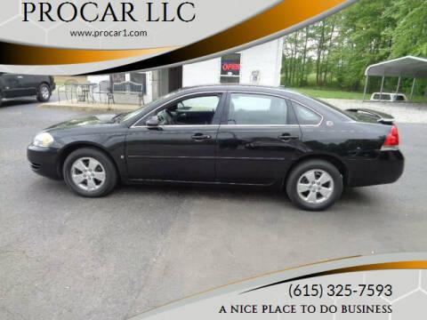 2007 Chevrolet Impala for sale at PROCAR LLC in Portland TN