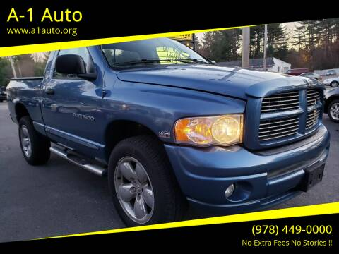 2005 Dodge Ram Pickup 1500 for sale at A-1 Auto in Pepperell MA