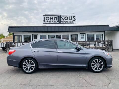 2014 Honda Accord for sale at John Solis Automotive Village in Idaho Falls ID
