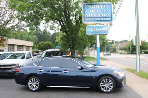 2015 Infiniti Q70L for sale at North Hills Motors in Raleigh NC