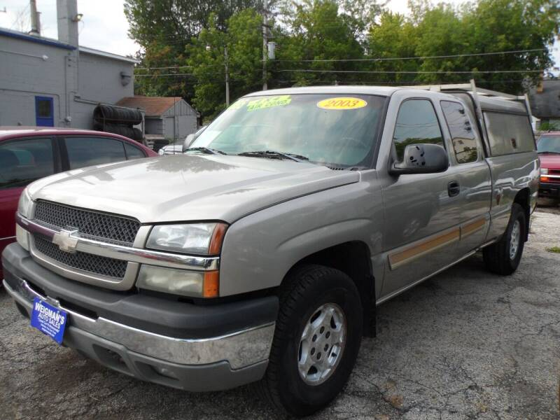 2003 Chevrolet Silverado 1500 for sale at Weigman's Auto Sales in Milwaukee WI