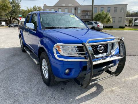 2014 Nissan Frontier for sale at LUXURY AUTO MALL in Tampa FL