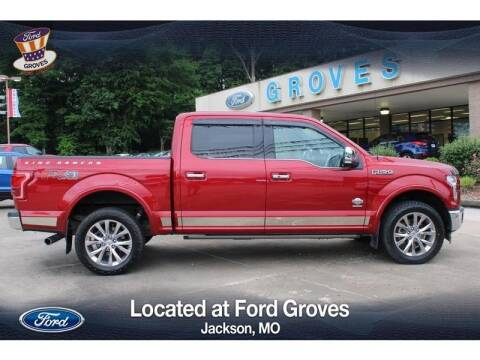 2017 Ford F-150 for sale at JACKSON FORD GROVES in Jackson MO