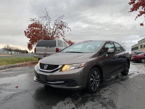2013 Honda Civic for sale at All-Star Auto Brokers in Layton UT