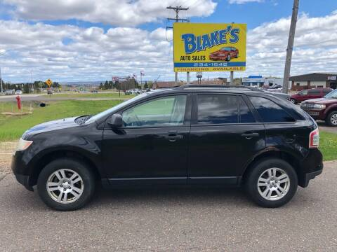 2007 Ford Edge for sale at Blake's Auto Sales in Rice Lake WI