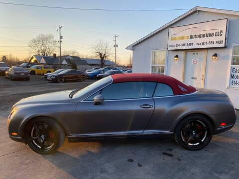 2007 Bentley Continental for sale at COLUMBUS AUTOMOTIVE in Reynoldsburg OH